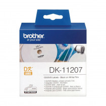 BROTHER DK11207 termične nalepke CD/DVD