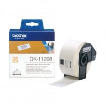 BROTHER DK11208 termične večje nalepke 38x90mm