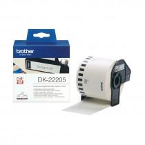 BROTHER DK22205 termične neskončne nalepke - papir 62mm x 30,48m