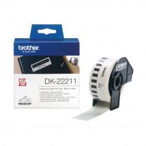 BROTHER DK22211 termične neskončne nalepke - film 29mm x 15,24m