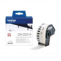 BROTHER DK22214 termične neskončne nalepke - papir 12mm x 30,48m