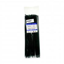 Vezice 300 x 3,6mm črne (pak/100) GW