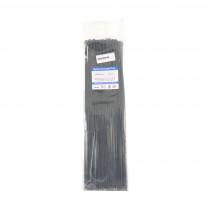 Vezice 370 x 4,8mm črne (pak/100) GW
