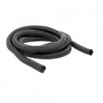 Spenjalna cev DELOCK tekstilna fi 19mm črna 2m