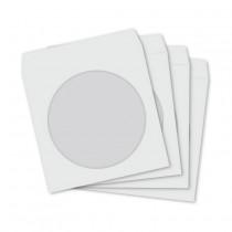 CD/DVD ovitek papirnat bel (pak/100)
