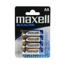 Baterija alkalna AA 4kom MAXELL