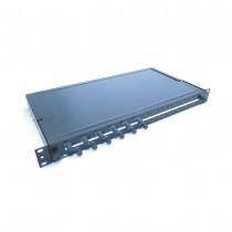 Optični panel 48cm  ST 12x adapter, MM, OM2 Leviton