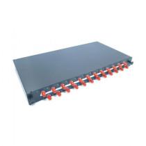Optični panel 48cm  ST 24x adapter, MM, OM2 Leviton