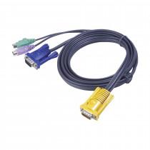 Set kablov ATEN 2L-5202P VGA/PS2 1,8m