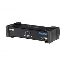 KVM  stikalo  2:1 namizni DVI/USB/AVDIO s kabli CS1762A Aten