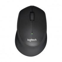 Miška Logitech M330 Silent Plus Brezžična, črna