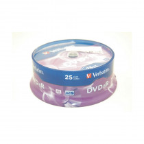 DVD+R 4,7Gb 16x 25-cake Verbatim
