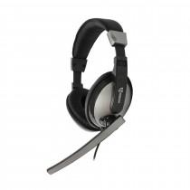 Slušalke + mikrofon SBOX HS-302 črne