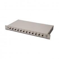Optični panel 48cm ST 12x adapter Opt. kaseta, Pigtails OM2 Digitus