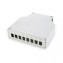 Optični panel DIN Rail 8xLC/DX Digitus