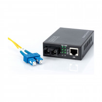 Pretvornik FO-UTP 1000/1000 SC Singlemode DIGITUS