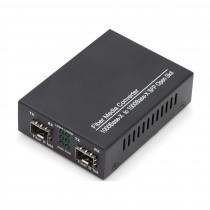 Pretvornik FO-FO 10/100/1000 SFP prazen Digitus Multimode/Singlemode