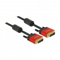 DVI kabel digital-digital  3m Delock premium s feritno dušilko