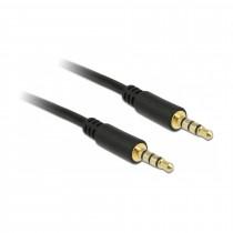 Kabel AVDIO 3,5M-3,5M 4pin 1m črn Delock