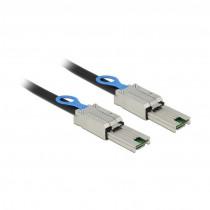 SAS kabel - Mini SAS SFF-8088 > Mini SAS SFF-8088 2m Delock
