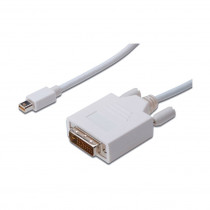 DisplayPort mini-DVI kabel 1m Digitus bel