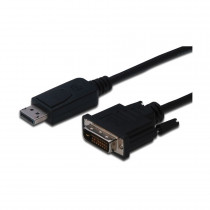 DisplayPort - DVI kabel 5m Digitus