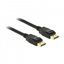 DisplayPort kabel 2m 4K 60Hz Delock črn