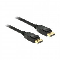 DisplayPort kabel 3m 4K 60Hz Delock črn
