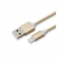 Kabel Apple USB/Lightning 1,5m zlat SBOX