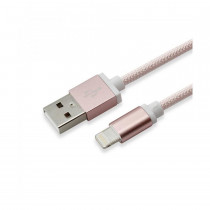 Kabel Apple USB/Lightning 1,5m roza SBOX