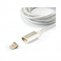Kabel Apple USB/Lightning 1m magnetni srebrn SBOX