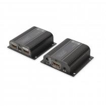 Line extender-HDMI RJ45-RJ45 do  50m Digitus