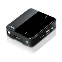 KVM stikalo 2:1 Displayport/USB s kabli CS782DP 4K Aten