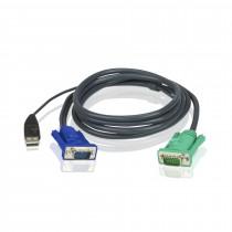 Set kablov ATEN 2L-5203U VGA/USB 3m