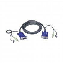 Set kablov ATEN 2L-2402A VGA/AVDIO 1.8m