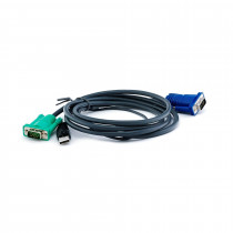 Set kablov ATEN 2L-5202U VGA/USB 1,8m