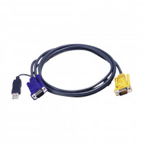 Set kablov ATEN 2L-5202UP VGA/USB 1.8m