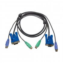Set kablov ATEN 2L-5002P/C VGA/PS2 1,8m