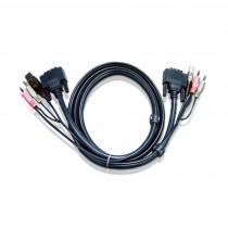 Set kablov ATEN 2L-7D05U DVI/USB/AVDIO 5m