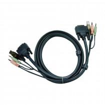 Set kablov ATEN 2L-7D02U DVI/USB/AUDIO 2m