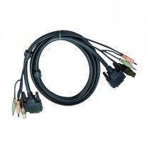 Set kablov ATEN 2L-7D02UI DVI-I/USB/ AUDIO 1,8m