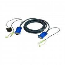 Set kablov ATEN 2L-5203B VGA/AVDIO 3m