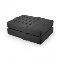 Zaščitna guma za HDD 9cm Fantec črna