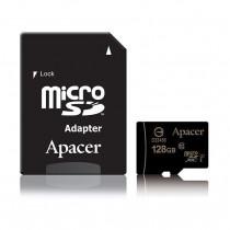 Pomnilniška kartica microSD XC 128GB APACER UHS-I Class 10 + SD adapter