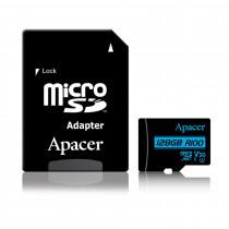 Pomnilniška kartica microSD XC 128GB APACER UHS-I U3 V30 R100 Class 10