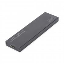 Ohišje SSD USB 3.1 TIP-C M.2 SATA DA-71115 črno Digitus