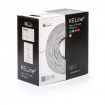 Kabel CAT.6 UTP 4x2x0,54 LSOH 400Mhz Euroclass ECA 305m KELINE