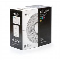 Kabel CAT.6 UTP 4x2x0,54 PVC 400Mhz Euroclass ECA 305m KELINE