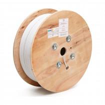 Kabel CAT.7 SFTP 4x2 AWG23 1000Mhz Euroclass Dca-s2-d1-a1 500m KELine