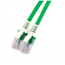 UTP cat5e PATCH 3m Brand-Rex zelen